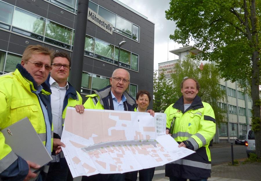 Möhnestraße und Stembergstraße: Bauarbeiten starten wieder