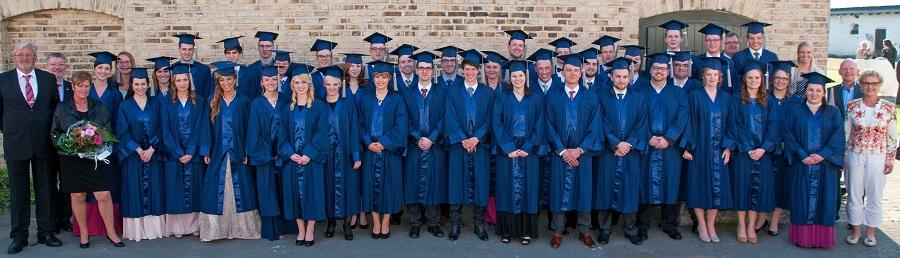 VWA vergibt 41 Bachelor-Zeugnisse