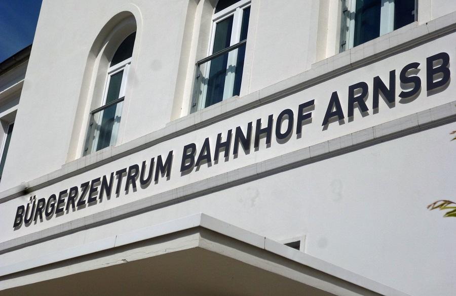 Im Arnsberger Bürgerbahnhof öffnet regelmäßig das Repair Cafe. (Foto. oe)
