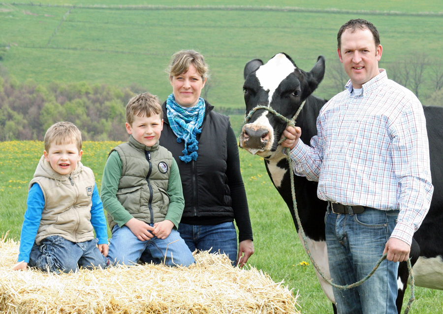 Heimische Milchwirtschaft fest in Familienhand