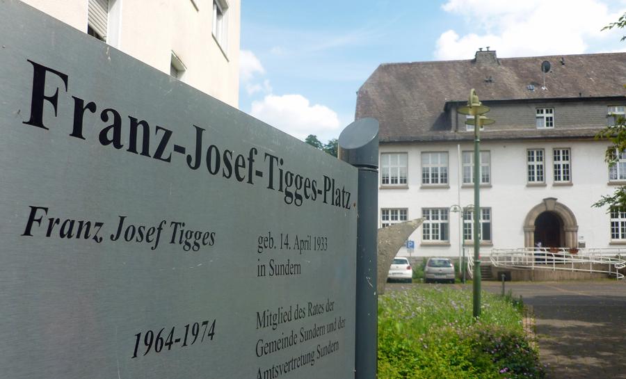 CDU möchte Tigges-Platz mit Fußgängerzone verbinden