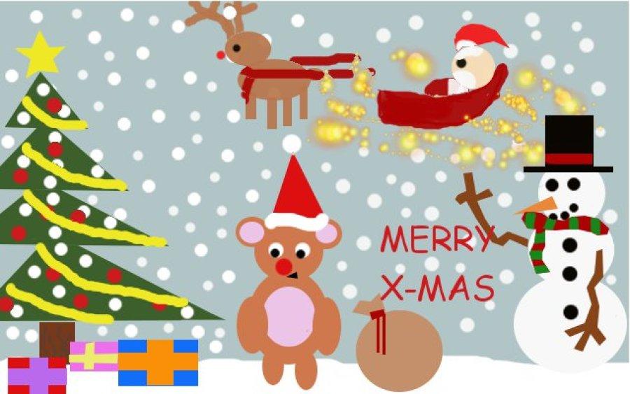 Digitale Weihnachtskarten.Laurentianer Gestalten Weihnachtskarten Digital