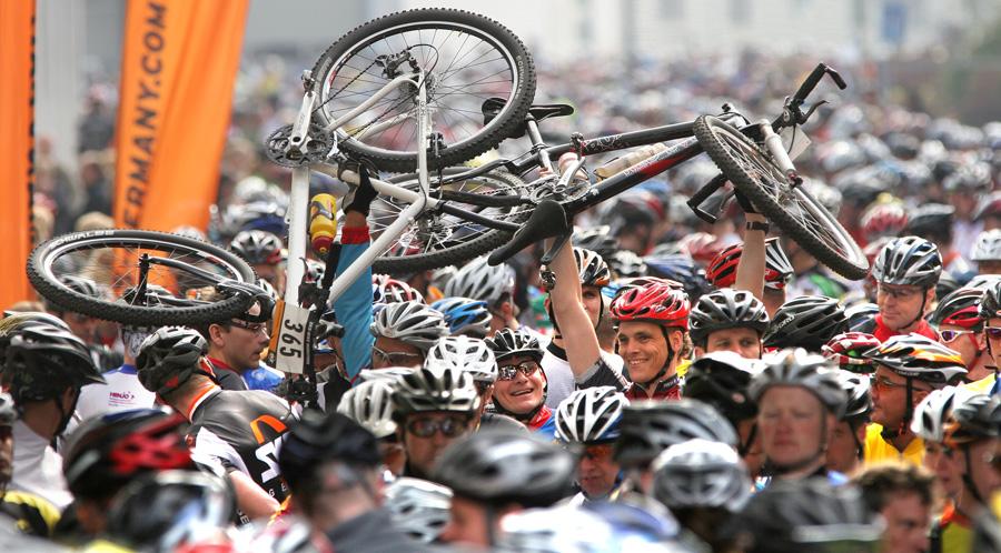 Megasports: Anmeldestart zum SKS-Mountainbike-Marathon
