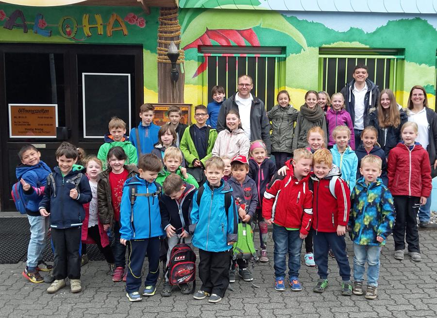 Die Kinder des Spielmannszugs Müschede erlebten einen tollen Tag. (Foto: Spielmannszug)