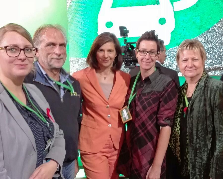 Zwei Arnsbergerinnen bei Grünen-Bundesparteitag