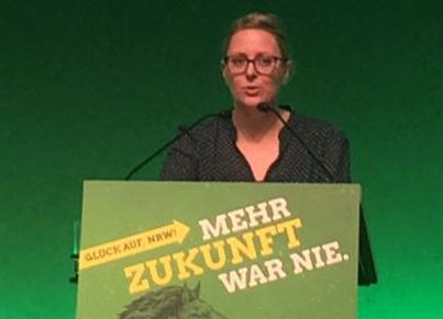 Grüne wählen Annika Neumeister auf Platz 21