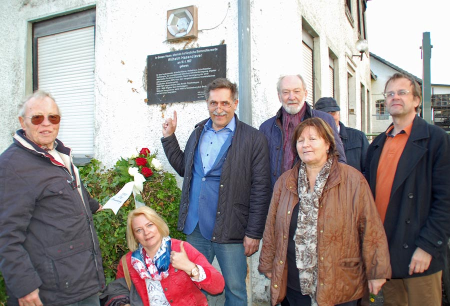 180. Geburtstag: SPD erinnert an Wilhelm Hasenclever