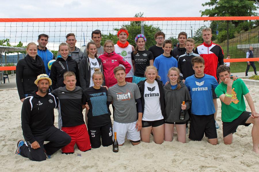 Aloha-Team holt sich Beachvolleyball-Stadtmeisterschaft
