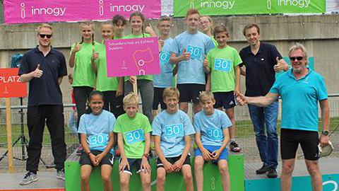 Schülerstaffeln aus Arnsberg und Sundern auf Rekordjagd