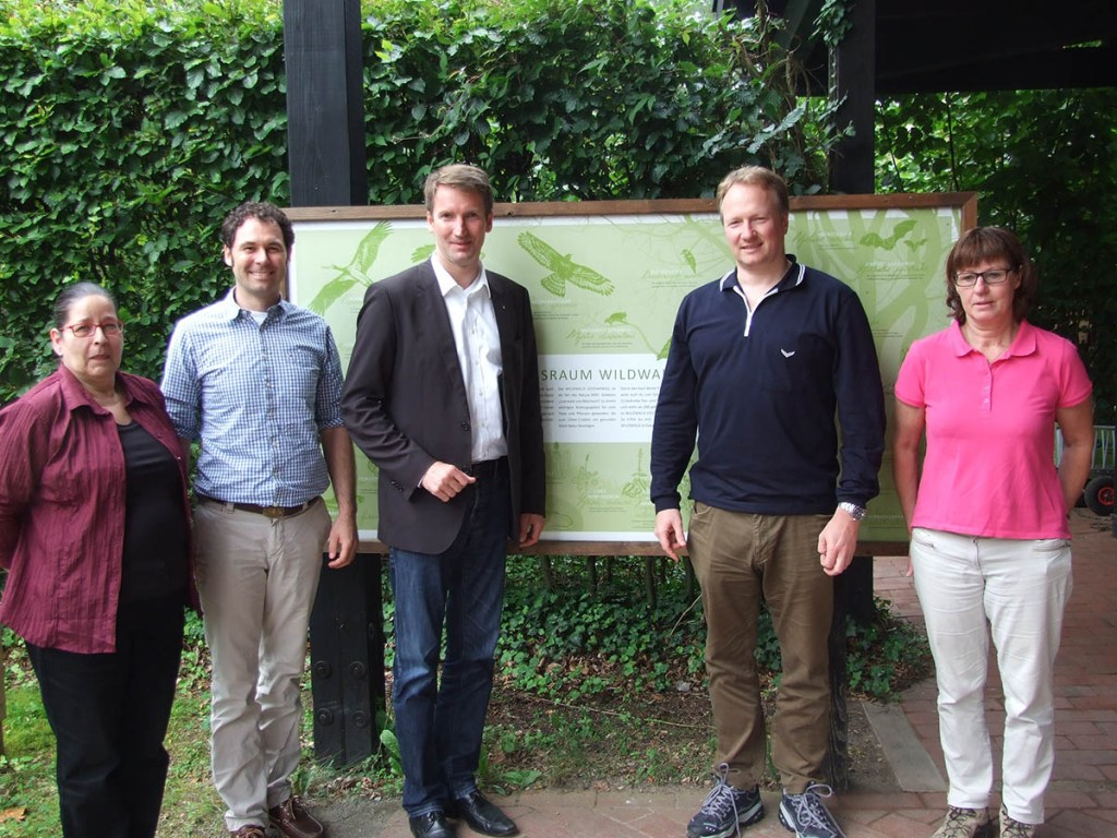 Patrick Sensburg besucht Wildwald Voßwinkel