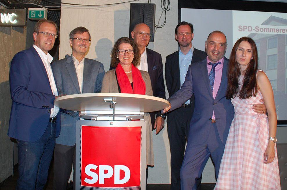 SPD-Sommerfest: Bittner stellt erste Ideen als möglicher Bürgermeisterkandidat vor