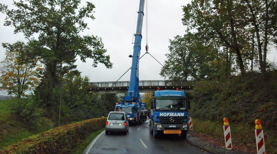 Brückensanierung hat prima geklappt