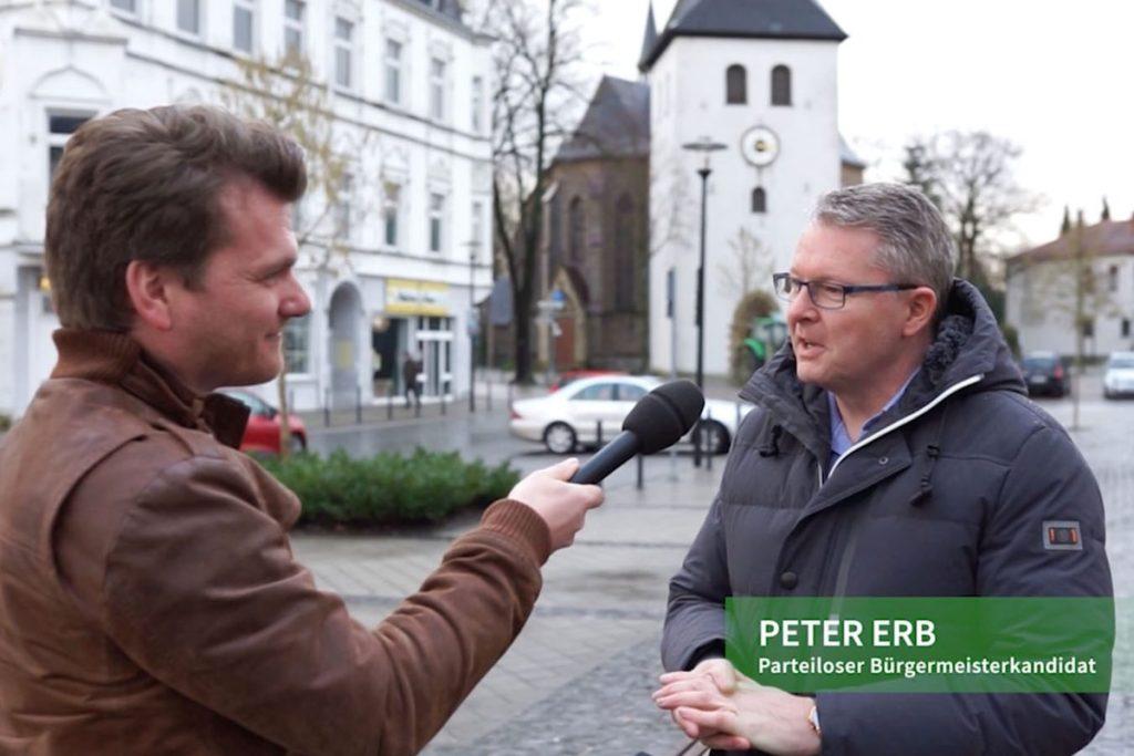 Arnsberg wählt: Video-Interview mit Bürgermeisterkandidat Peter Erb (CDU/ Grüne)