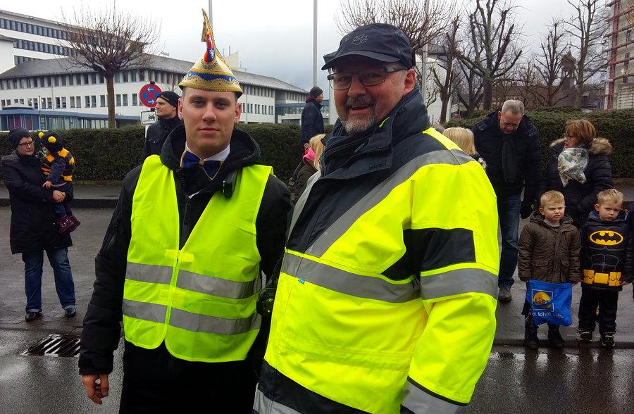 Polizei: Lindwurm der Freude verlief störungsfrei