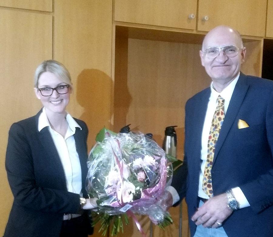 Katharina Grothe (34) zur Beigeordneten gewählt