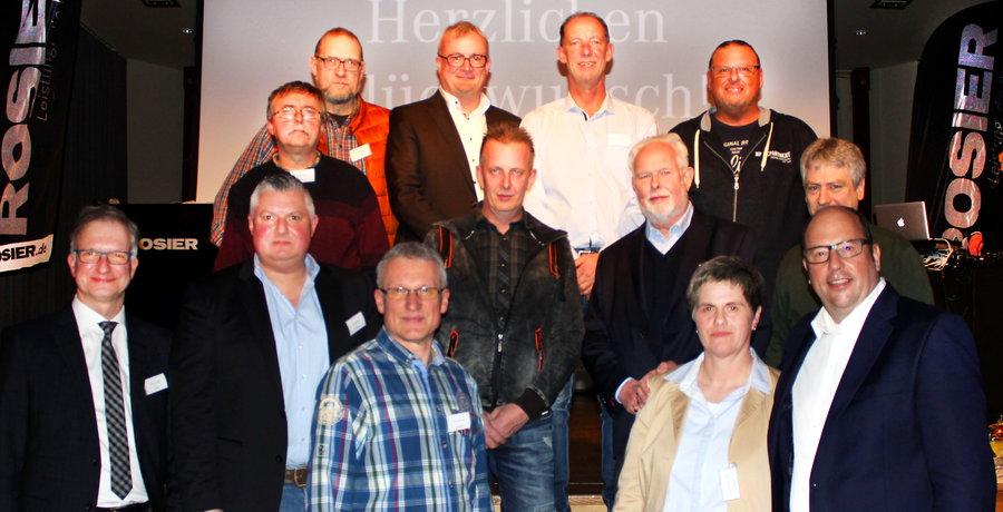 Große Bühne für langjährige Rosier-Mitarbeiter