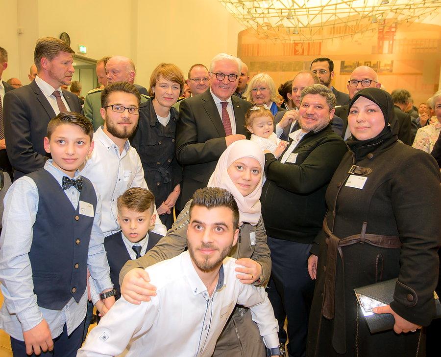 Bundespräsident traf in Arnsberg ehrenamtlich engagierte Bürger