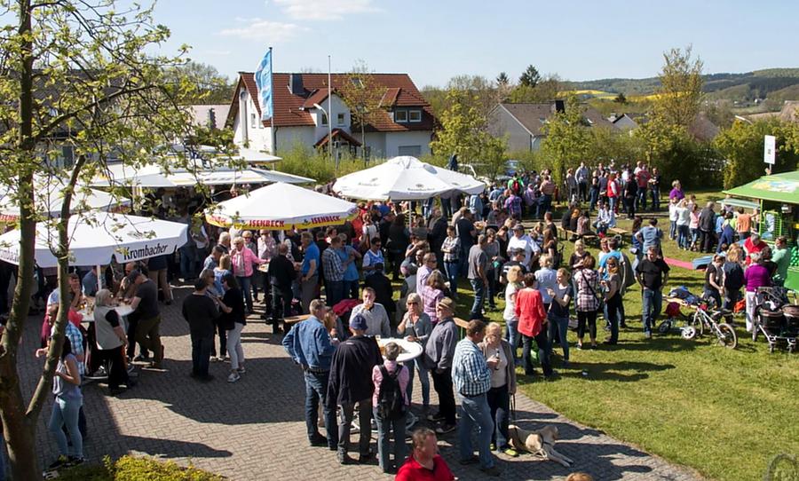 Drei Vereine, ein Fest: Rumbeck feiert Vatertag