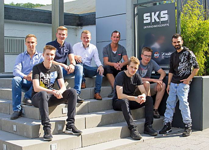 "Geball­te ""Man­power"" bei SKS"