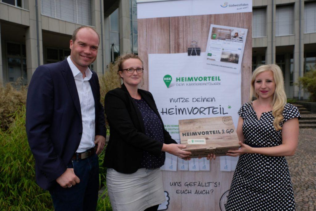 Neues Gesicht für den Heimvorteil: Personalwechsel beim Projekt HEIMVORTEIL HSK