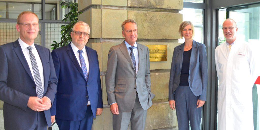 St. Walburga-Krankenhaus als Akademisches Lehrkrankenhaus der Uni Münster anerkannt