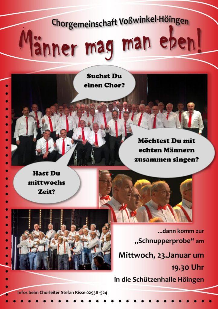 """Bekannt aus """"Der beste Chor im Westen"""": Chorgemeinschaft lädt zur Schnupperprobe"""