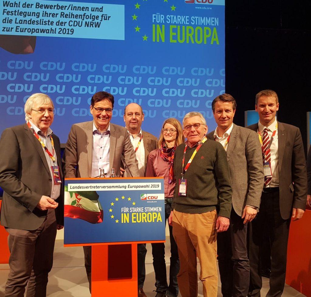 Dr. Peter Liese auf Platz eins der Landesliste der CDU NRW