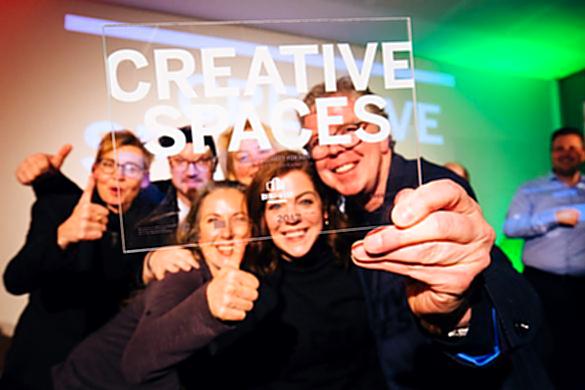 Auszeichnung Creative.Spaces an Kunst-Werk am Kaiserhaus