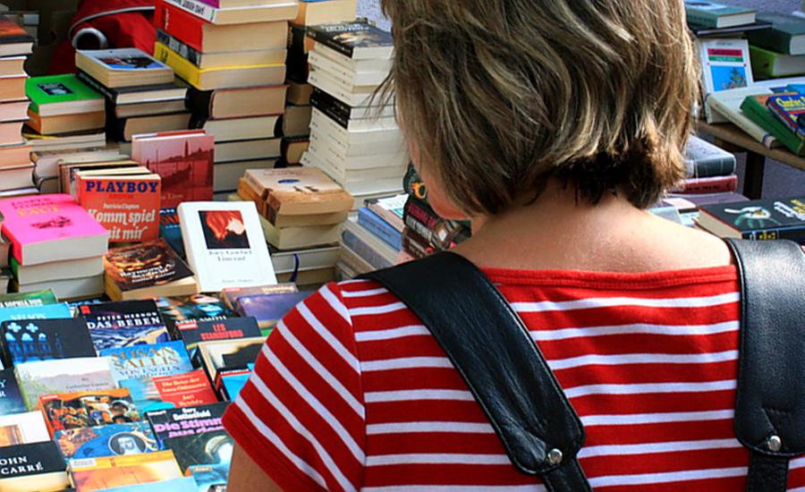 Bald wieder größter Bücherflohmarkt des Sauerlandes
