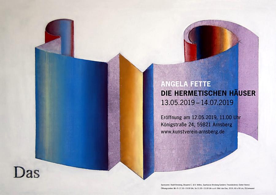 """Kunstverein zeigt """"Die hermetischen Häuser"""" von Angela Fette"""