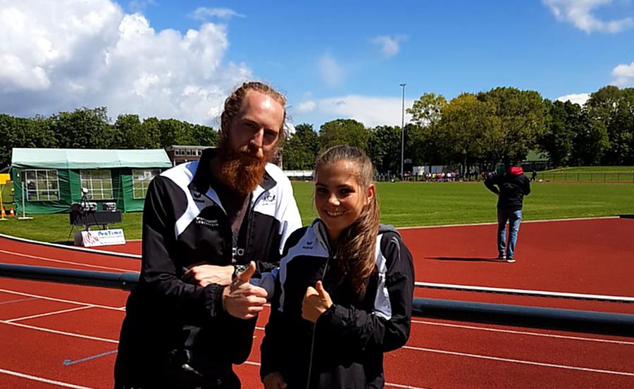 3000-m-Läuferin Paula Schürmann qualifiziert sich für Deutsche Meisterschaften U16