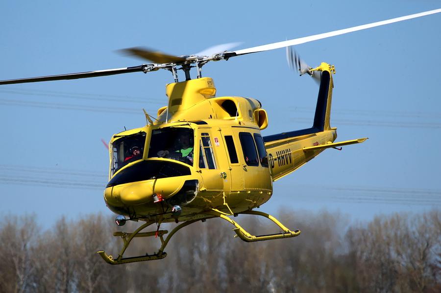Hubschrauber startet Himmelfahrt zu Rundflügen über Oeventrop