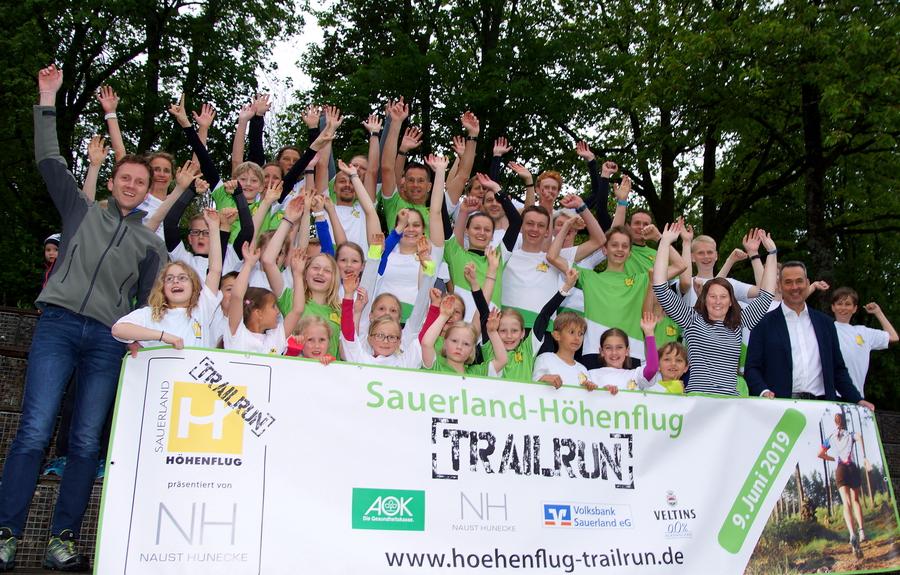 Vorfreude auf Sauerland-Höhenflug-Trailrun