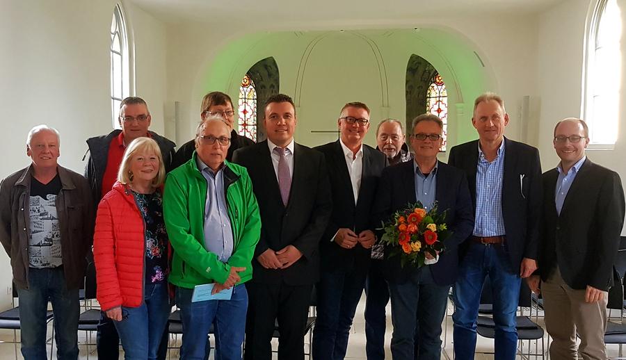 Frank Neuhaus führt jetzt Bezirksausschuss Bruchhausen