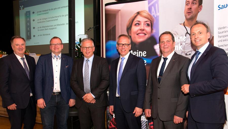 Andreas Güll und Detlef Lins neu im Volksbank-Aufsichtsrat