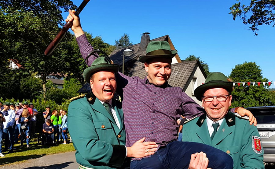 Julian Kaiser neuer König in Hagen