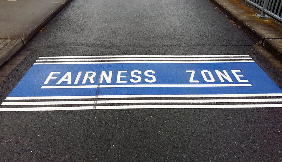 Fairnesszone am Sportplatz Bruchhausen eingerichtet