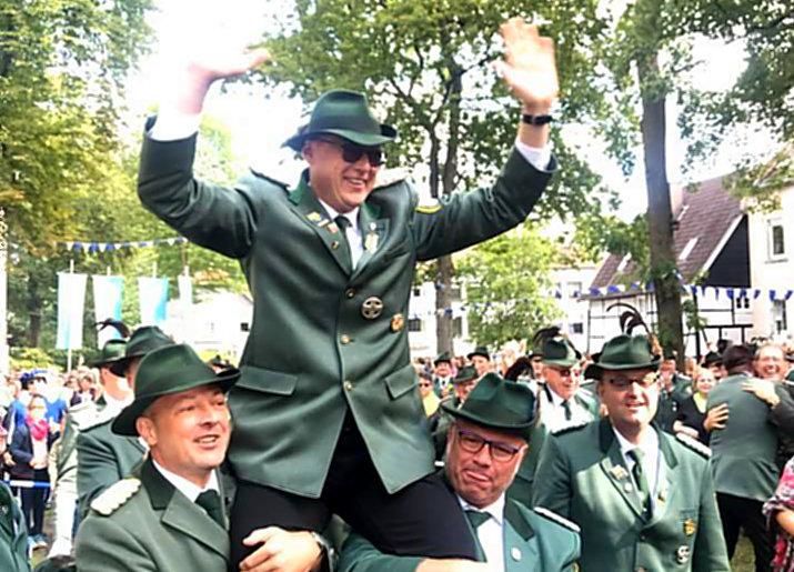 Axel Cöppicus-Röttger König der Neheimer Schützen