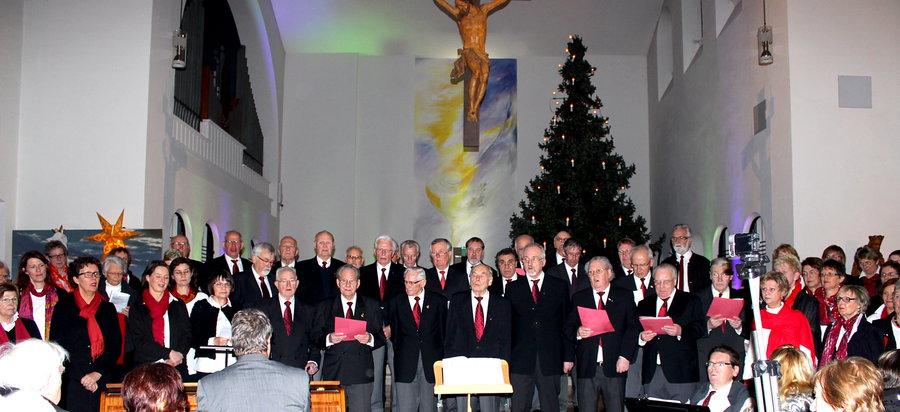 Weihnachtliches Konzert im St. Walburga-Krankenhaus