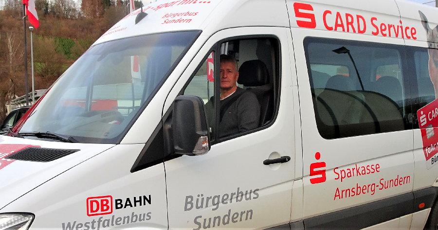 Hachener Werner Günther fährt auf Röhrtal-Linie
