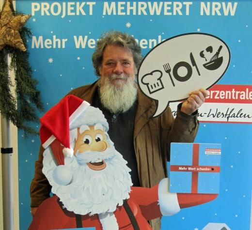 Auch Blickpunkt-Redakteur Oskar Eichhorst macht mit. (Foto: Verbraucherzentrale)