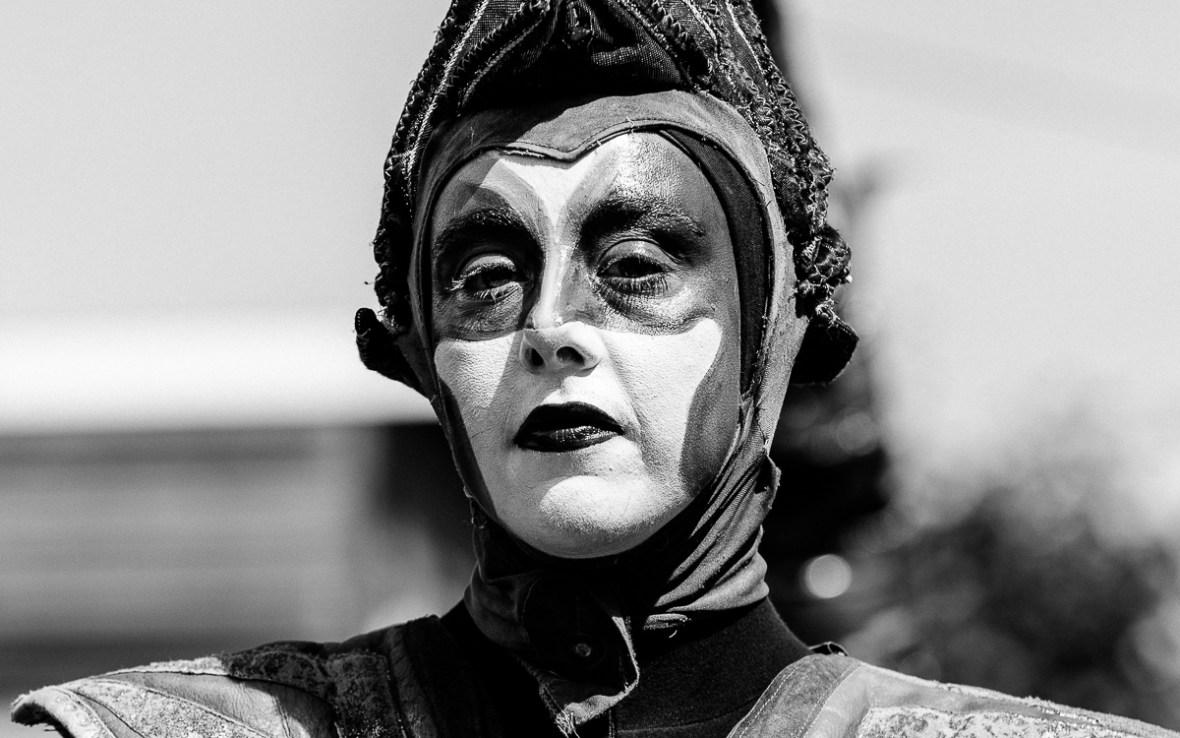 Portret van een artiest van Close-Act tijdens de Horizontoer 2018.