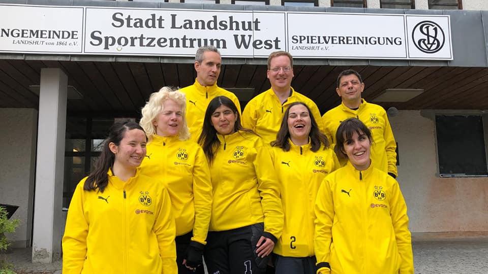 Deutscher Meister der Damen 2019 im Torball - BVB Dortmund