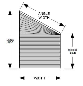 How To Cover A Trapezoid Window The Finishing Touch