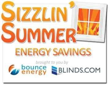 Sizzlin Summer with Blinds.com and Bounce Energy