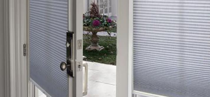 Alternatives to Enclosed Door Blinds You Can Install Yourself - The ...