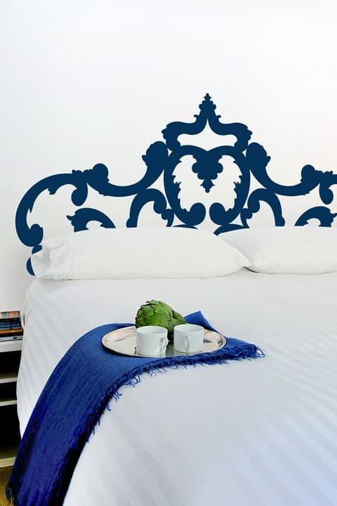 Blik Headboard decal