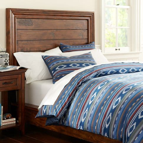 Surfer stripe duvet cover