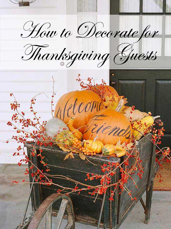 How To Decorate For Thanksgiving Guests