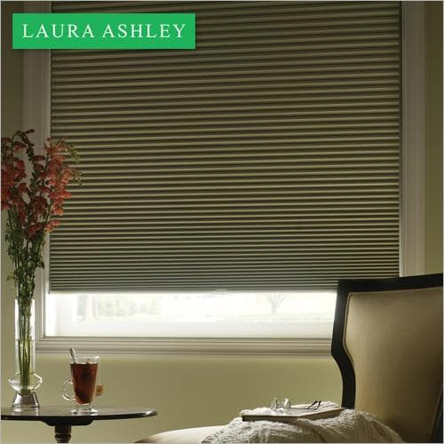 "Laura Ashley 3/4"" Blackout Single Cell Shade"